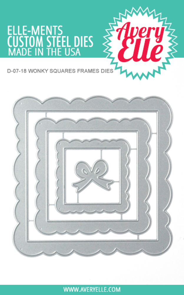 66ac357d164 Wonky Squares Frames Example Avery Elle Wonky Squares Frames Dies ...