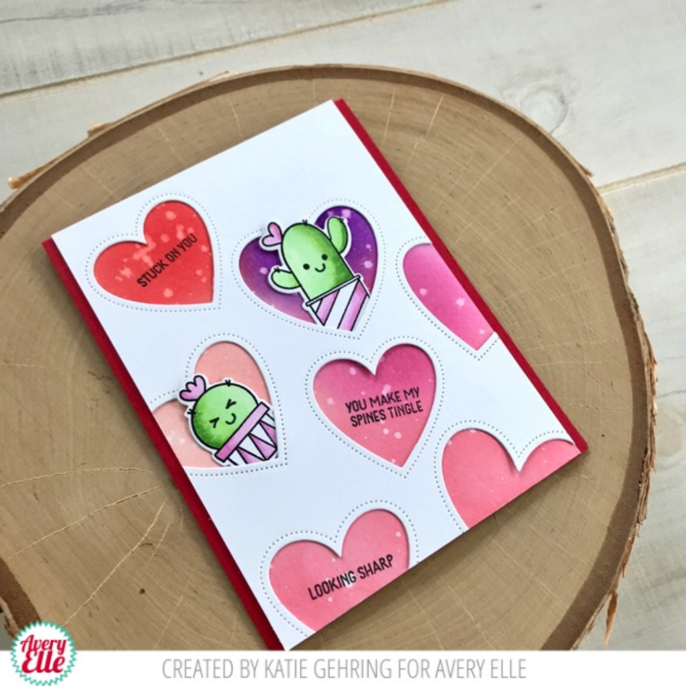 Stuck On You Clear Stamps & Dies