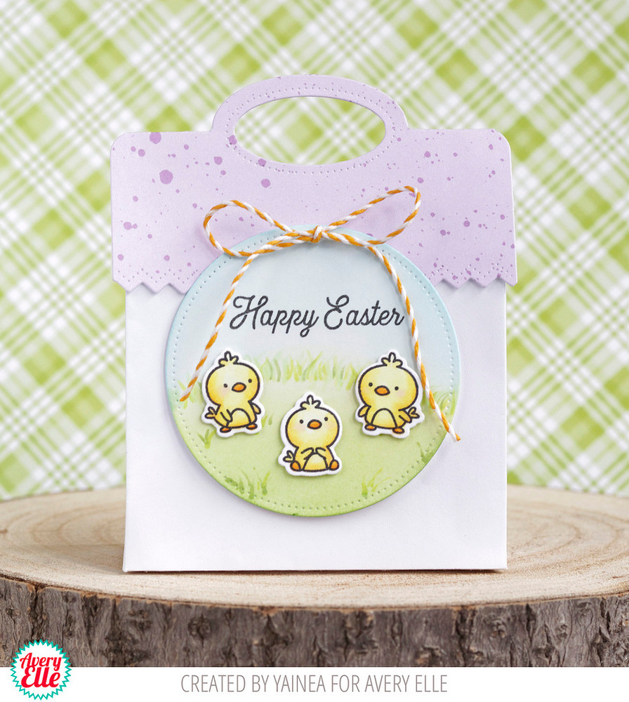 Easter Chicks Clear Stamps & Dies