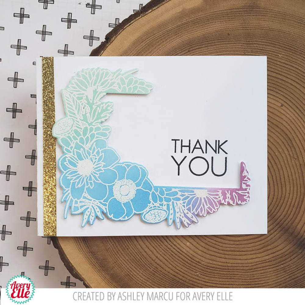 Floral Notes Clear Stamps & Dies