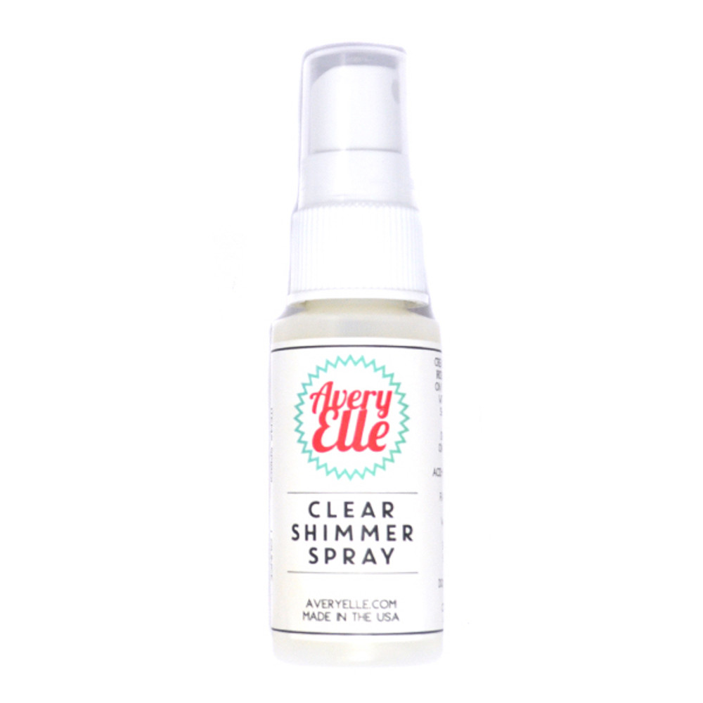 Avery Elle Clear Shimmer Spray