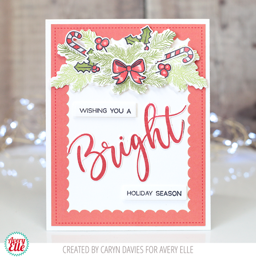 Simply Said: Bright Clear Stamps & Dies
