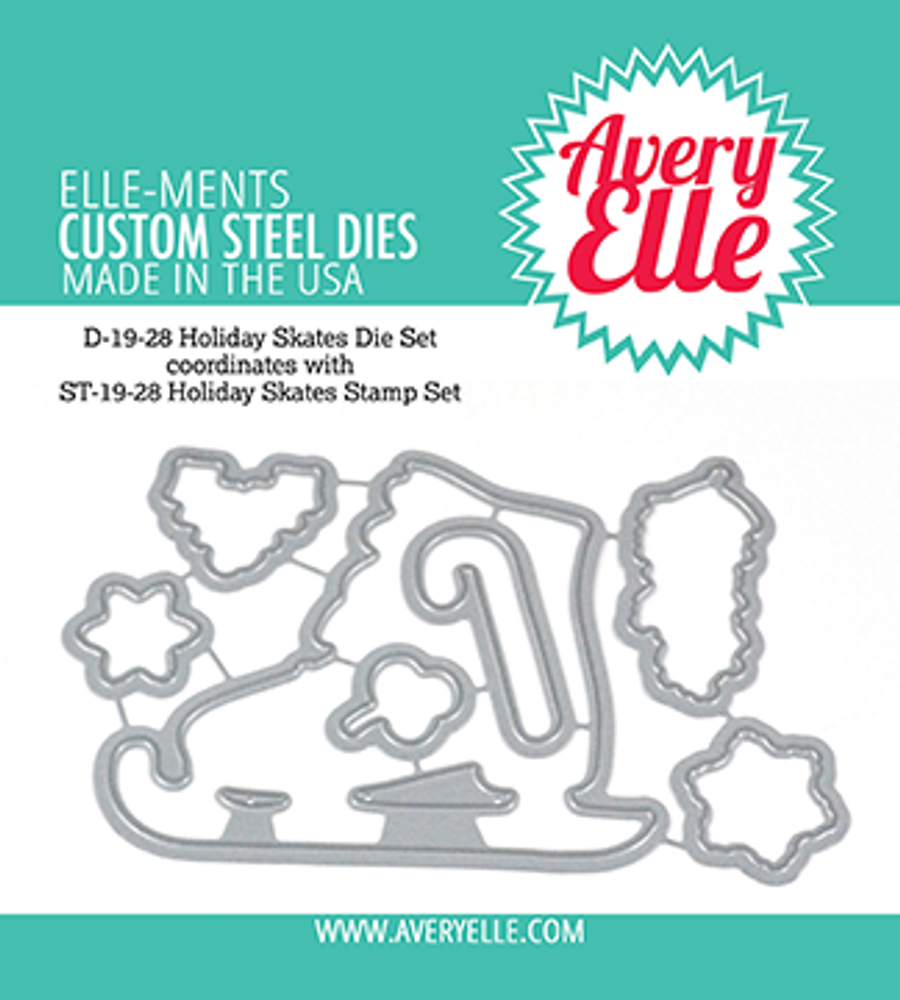 Avery Elle Holiday Skates Dies