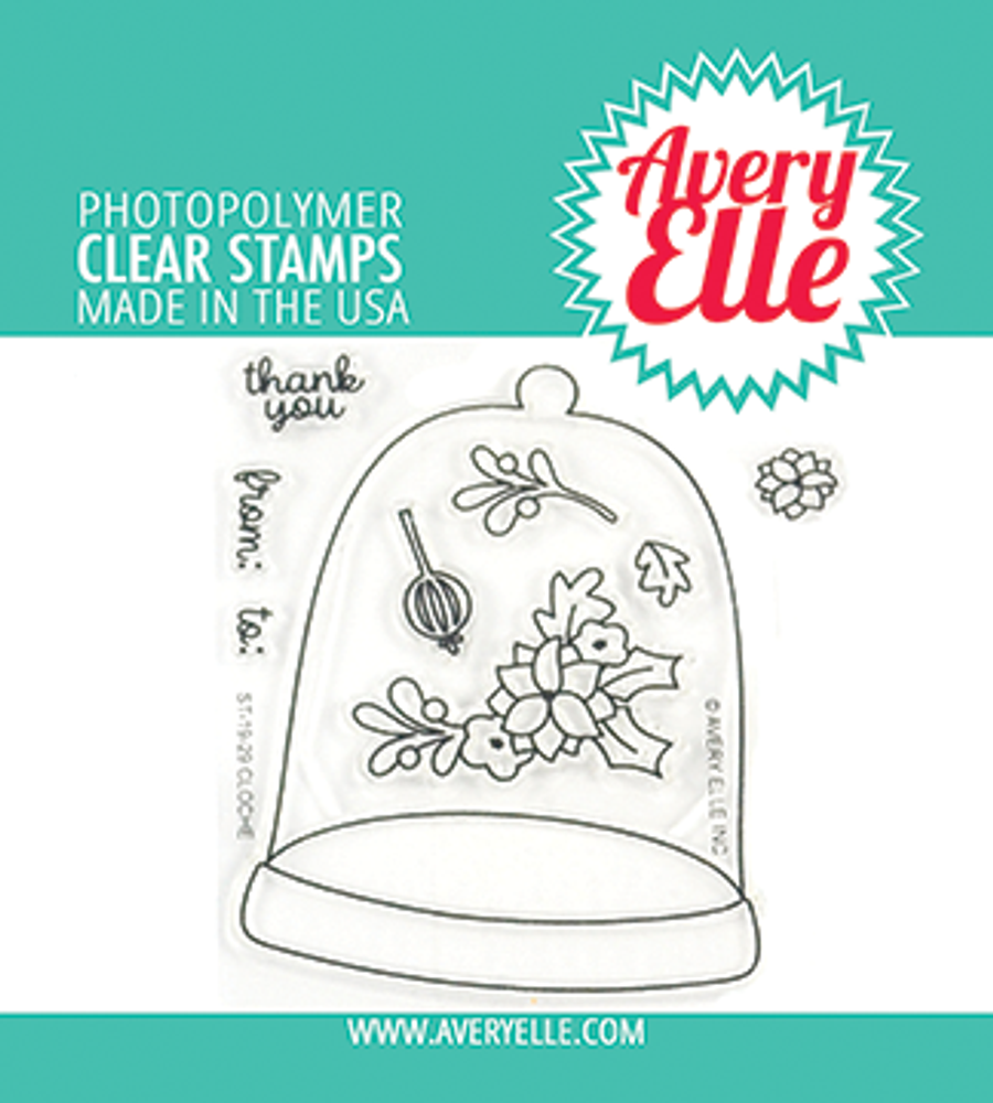 Avery Elle Cloche Clear Stamps