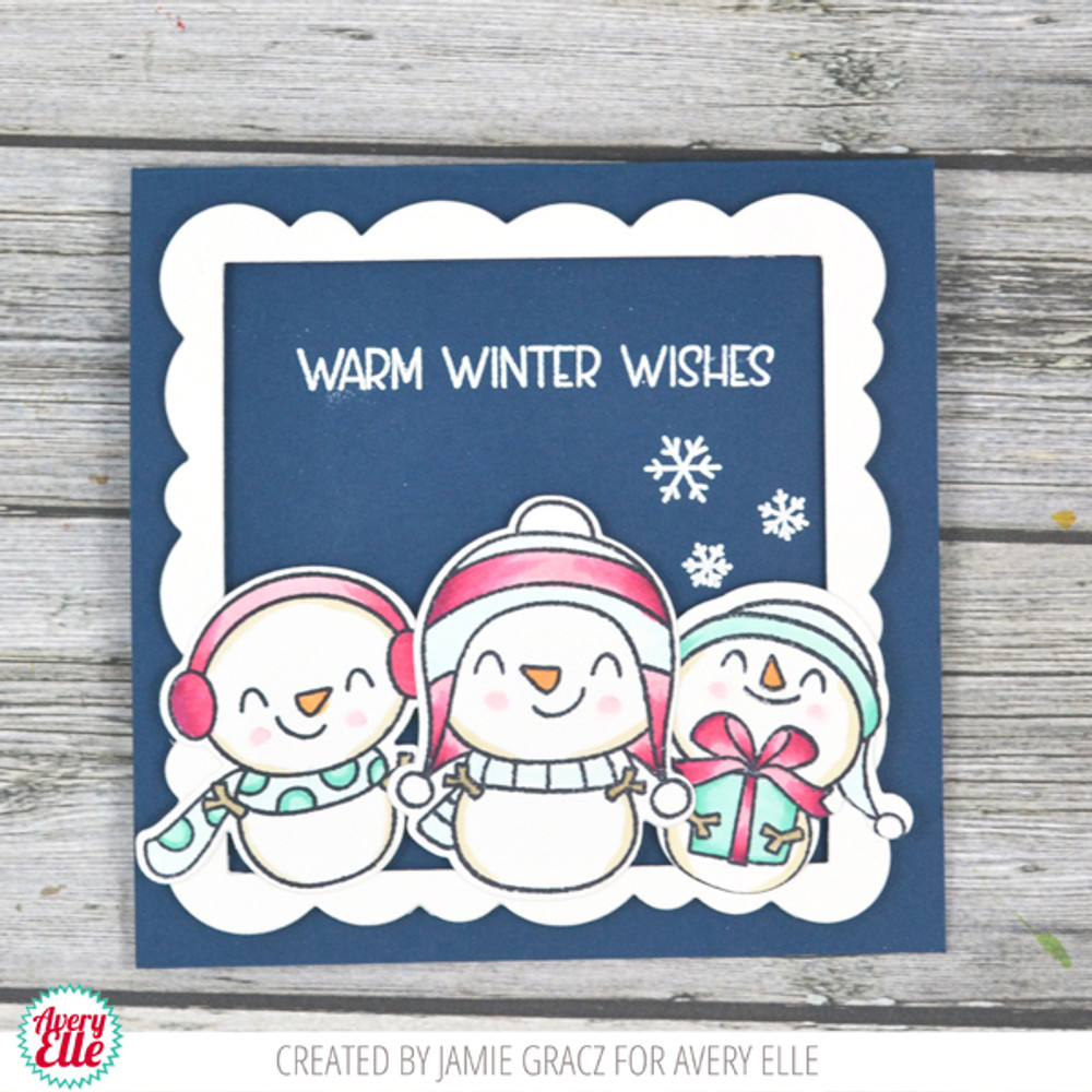 Snow Fun Clear Stamps & Dies