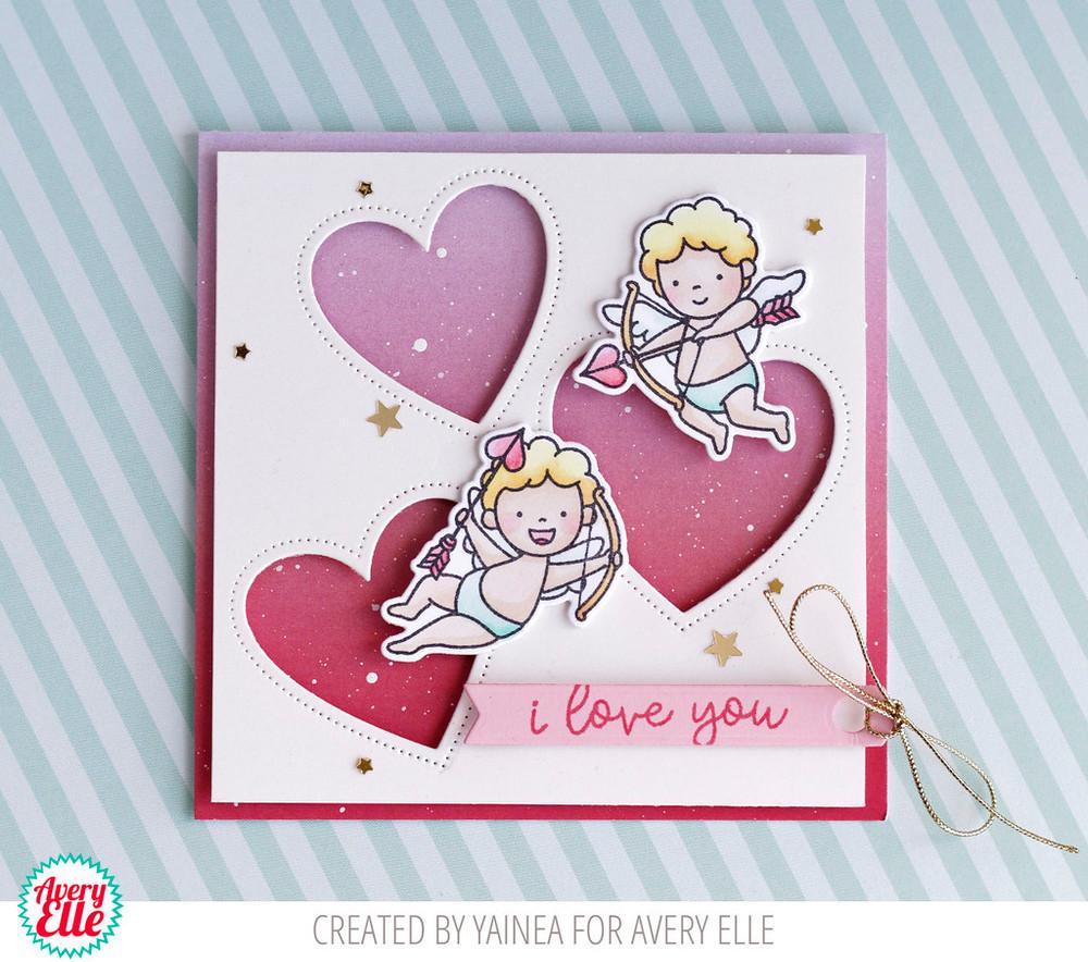 Cupids Clear Stamps & Dies