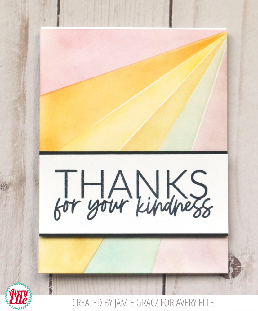 Thanks Thanks Clear Stamps