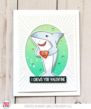 Shark Hugs Clear Stamps & Dies