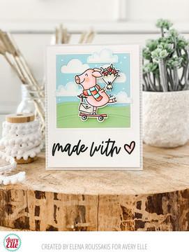 Sweet Swines Clear Stamps & Dies