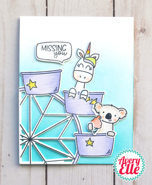 Peek-A-Boo Fair Clear Stamps & Dies