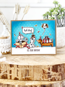 Hot Dog Clear Stamps & Dies
