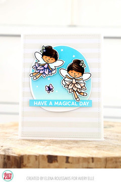 Fairy Happy Clear Stamps & Dies