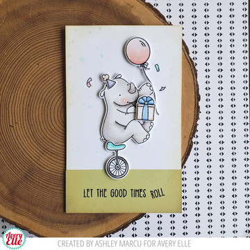 Unicycle Clear Stamps & Dies