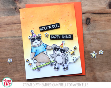 Stay Cool Clear Stamps & Dies