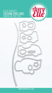 Avery Elle Peek-A-Boo Coaster Dies