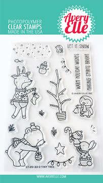 Avery Elle O Tiny Tree Clear Stamps
