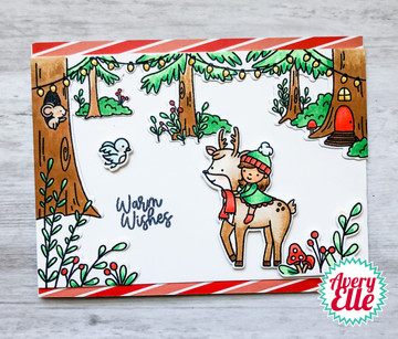 Woodland Scene Builder Clear Stamps & Dies