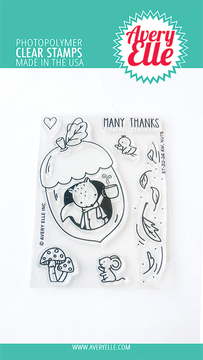 Avery Elle Aw, Nuts Clear Stamps