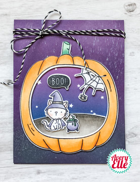 Boo To You Clear Stamp & Dies