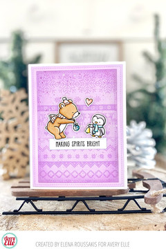 Nordic Patterns Clear Stamps