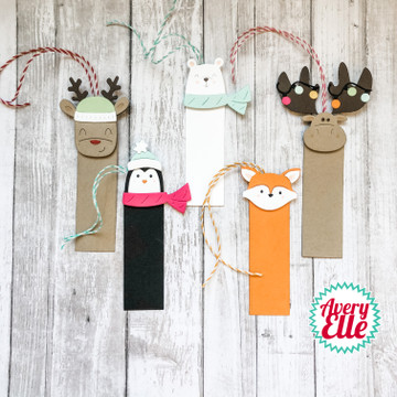 Peek-A-Boo Holiday Tag Toppers Dies