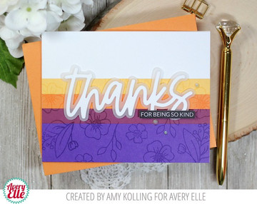 Loads Of Thanks Clear Stamps & Dies