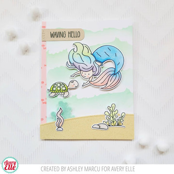 Underwater Friends Clear Stamps & Dies