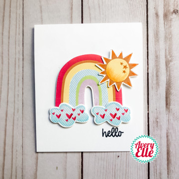 Rainbow Builder Clear Stamps & Dies