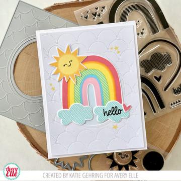 Rainbow Builder Clear Stamps & Dies