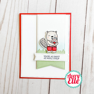 Maple Syrup Clear Stamps & Dies