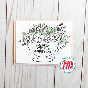 Cup Of Wishes Clear Stamps & Dies