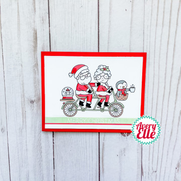 Mr. & Mrs. Claus Clear Stamps & Dies