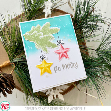 Layered Pine Clear Stamps & Dies