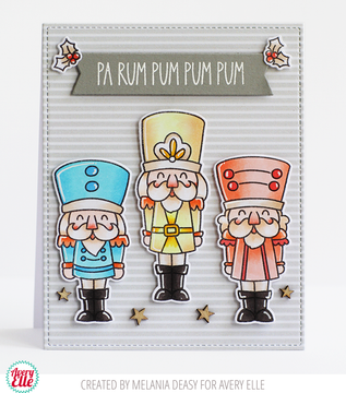 Nutcrackers Clear Stamps & Dies
