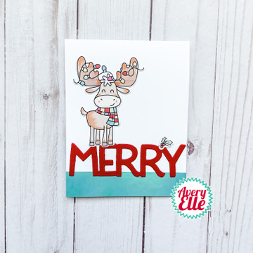 Christmas Critters Clear Stamps & Dies