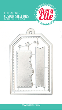 Avery Elle Easy Layers Tags Dies