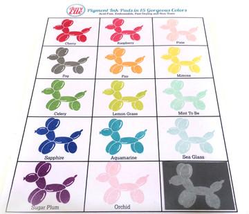 Raspberry Pigment Ink Pad