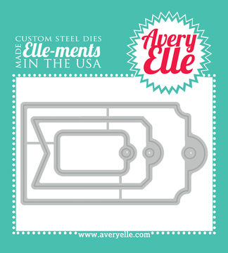 Avery Elle Gift Tags Elle-ments Dies