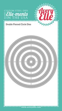 Double Pierced Circles craft dies