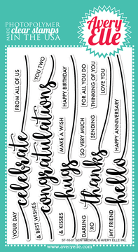 Sentimental Clear Stamps