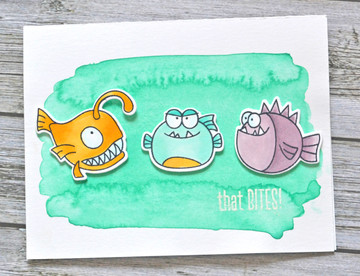 That Bites Clear Stamps & Dies
