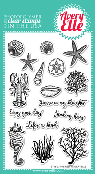 Avery Elle The Reef Clear Stamps