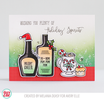 Holiday Spirits Clear Stamps & Dies