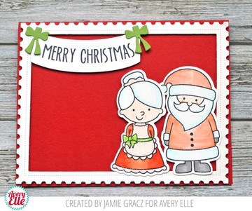 North Pole Pals Clear Stamps & Dies