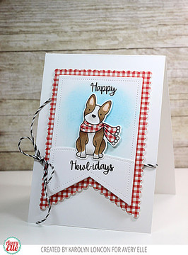 Happy Howl-idays Clear Stamps & Dies