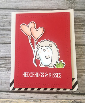 Hedgehugs Clear Stamps & Dies