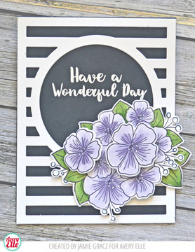 Floral Bouquet Clear Stamps & Dies