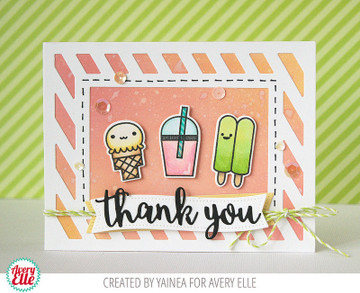 Cool Treats Clear Stamps & Dies