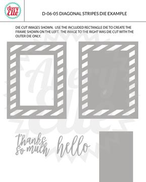 Diagonal Stripes Example