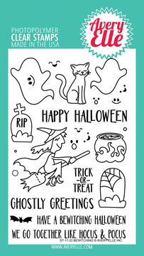 Avery Elle Bewitching Clear Stamps